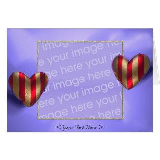 Heart Wraps 2 (photo frame) Greeting Card