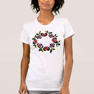 Heart Wreath T-shirts