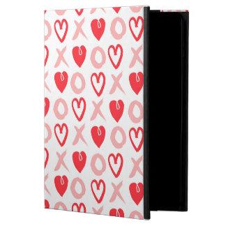 Heart XOXO Pink Red Valentine Love / Andrea Lauren iPad Air Cases