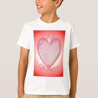 HEART XXX & OOO BE MINE by SHARON SHARPE T-Shirt