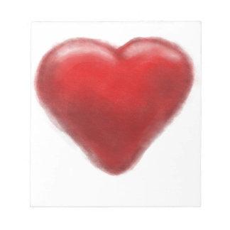 heart zone notepad
