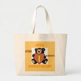 heartbear3, SWEETHEART, IOTA, OW  , SWEET Large Tote Bag