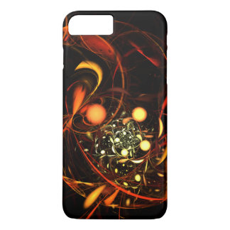 Heartbeat Abstract Art iPhone 7 Plus Case