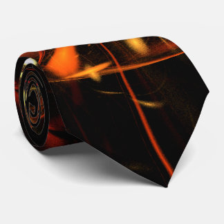 Heartbeat Abstract Art Tie