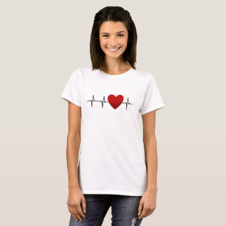 Heartbeat Hart T-shirts Gift for Adult