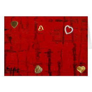 Heartbeat Note Card