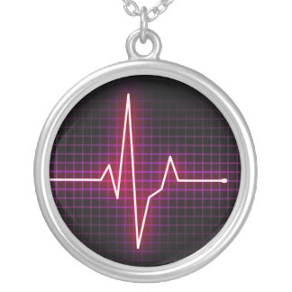 Heartbeat Pulse ECG necklace