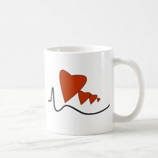 Heartbeats Mug