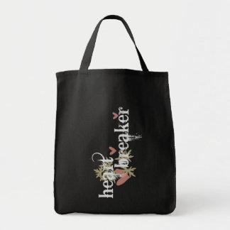Heartbreaker Grocery Tote Bag