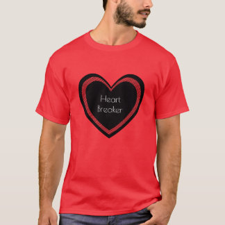 Heartbreaker Red and Black | Mens T-shirt