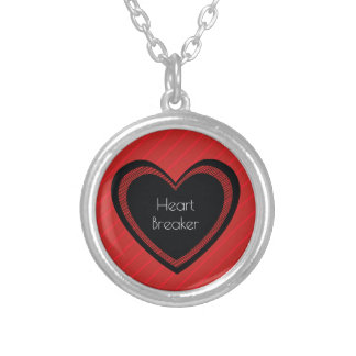 Heartbreaker Red and Black | Necklace