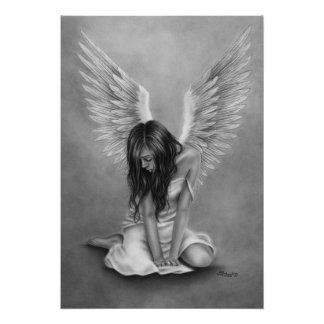 Heartbroken Angel Poster