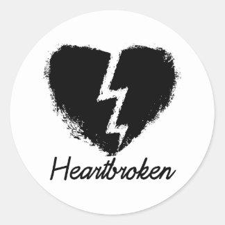 Heartbroken Anti Valentine s Day Sticker