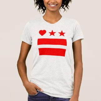 HeartDC in Ash Grey T-Shirt