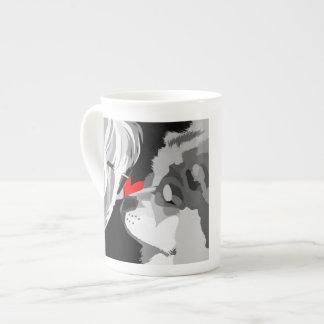 heARTdog bone china mug