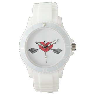 Hearted watch