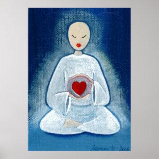 """""""Heartfelt Enlightenment"""" Poster"""