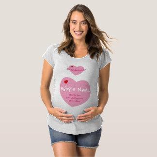 Heartful Hearts plus Booty Devil Maternity T-Shirt