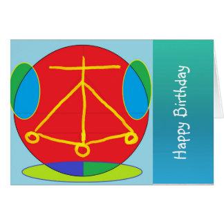 HEARTH Karuna Reiki Energy Greeting Card