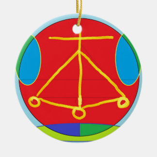 HEARTH Karuna Reiki Energy Ceramic Ornament