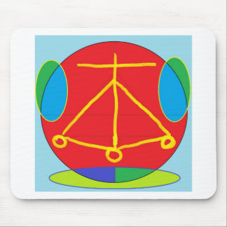 HEARTH Karuna Reiki Energy Mouse Pad
