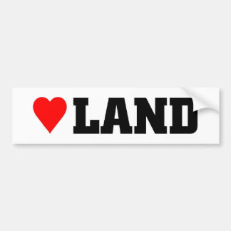 Heartland Bumper Sticker