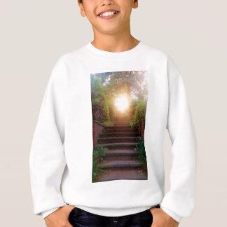 Heartlight  - nature photograph sweatshirt