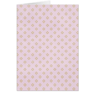 hearts09-pink HEART SHAPES LIGHT PINK SQUARE PATTE Card