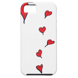 hearts 1 by tony fernandes iPhone 5 cases
