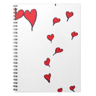 hearts 1 by tony fernandes notebook