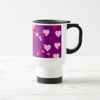 Hearts 4 Valentines Day Travel Mug
