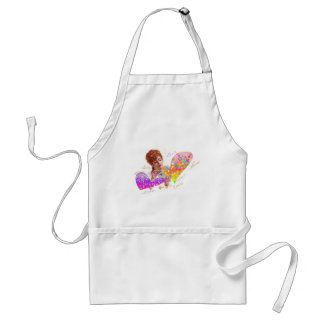 Hearts A5(love letter,amour, 爱) Standard Apron