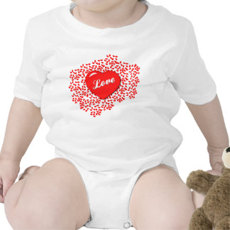 Hearts-a-Plenty Infant Creeper