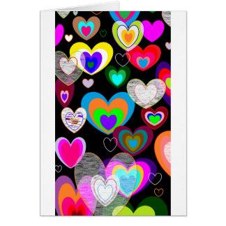 HEARTS ABOUND CARD
