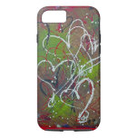 Hearts Abstract Original Art 6/6s iPhone 7 Case