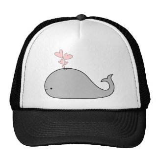 Hearts and a Whale Apparel Cap