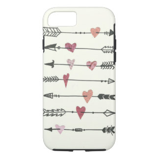 hearts and arrows iPhone 7 case