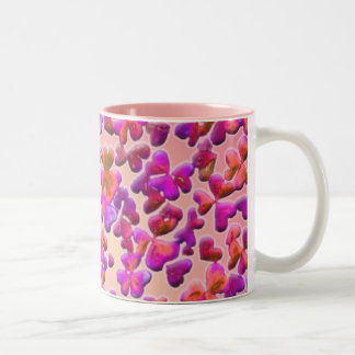 Hearts and Clovers Two-Tone Mug
