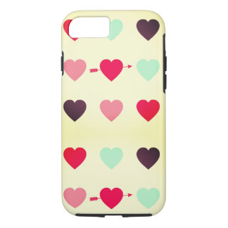 hearts and colours iPhone 8/7 case