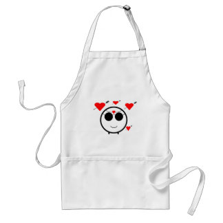 Hearts And Cupid Adult Apron