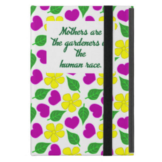 Hearts and Flowers iPad Cover