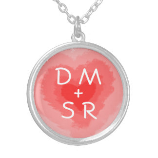 Hearts and Initials Custom Necklace