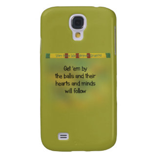 Hearts and Minds Galaxy S4 Case