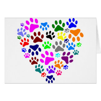 HEARTS AND PAWS CARD