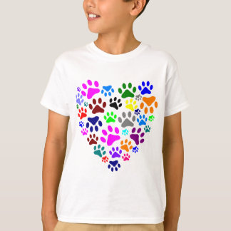 HEARTS AND PAWS T-Shirt