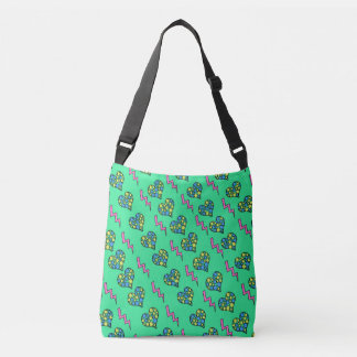 Hearts and Rays Crossbody Bag