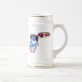 Hearts and Stars Coffee Mug