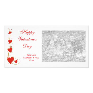 Hearts and Swirls Valentine Photo Cards