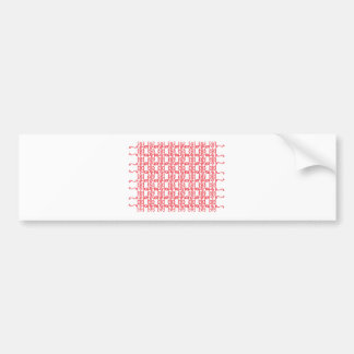 Hearts and Vines Bumper Stickers
