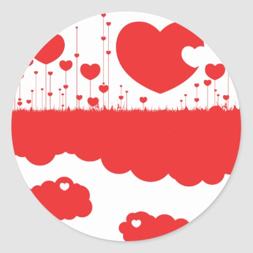Hearts are a growing! stickers